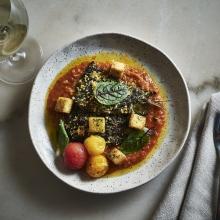 Tayim_Grilled Sardine Shakshuka, Moroccan Tomatoes, Cured Egg_2