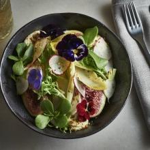 Tayim_Roasted Figs, Radicchio, Walnuts, Goats' Cheese, Chardonnay Dressing_1